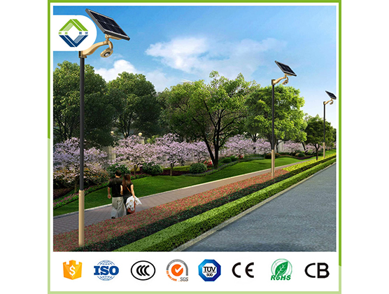 30w cob solar garden light