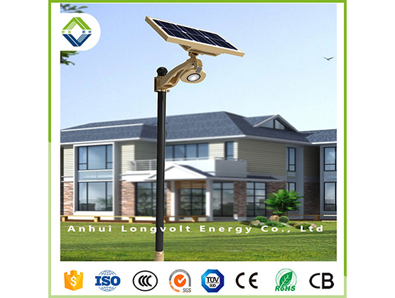 10w cob solar garden light