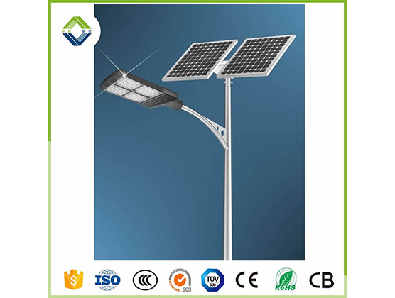 100w solar street light with lithium battery