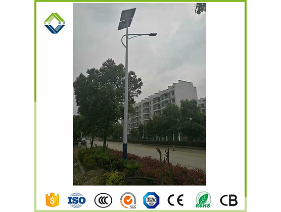 60w solar street light with lithium battery