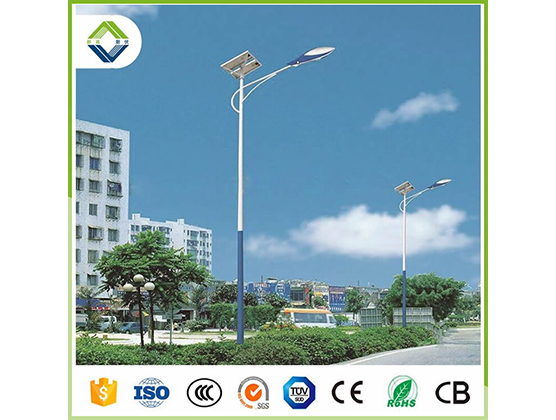 50w solar street light with lithium battery