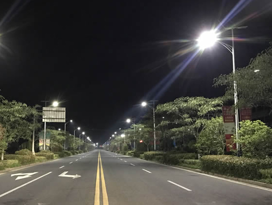 Project of solar street light in Anhui, China