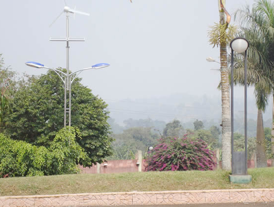 Project of solar street light in Cameroon